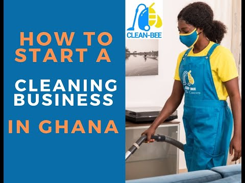How I Started A Successful Cleaning Business In Ghana #ghanabusiness #businessinafrica