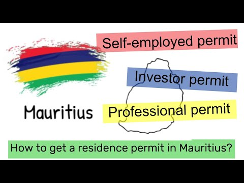 How to get a residence permit in Mauritius