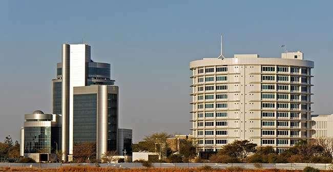 Botswana Capital Gabrone