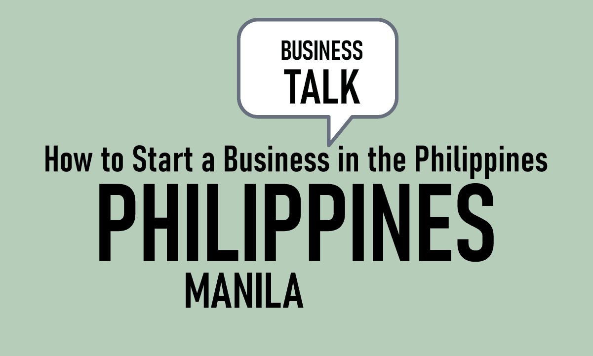 How to start a Business in the Philippines